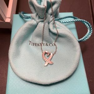 Tiffany & Co. Paloma Picasso 18k white gold .13ctw